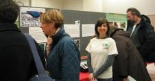 Student volunteer Erica Szeyller in the auditorium. 2010