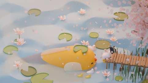 Lily Pond by Wendy Liu