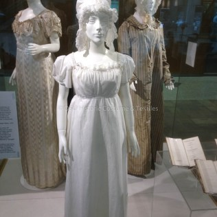 Three dresses from the Ohio State Historic Costume & Textiles Collection