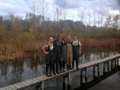 Service Project at the Olentangy Wetlands Research Park