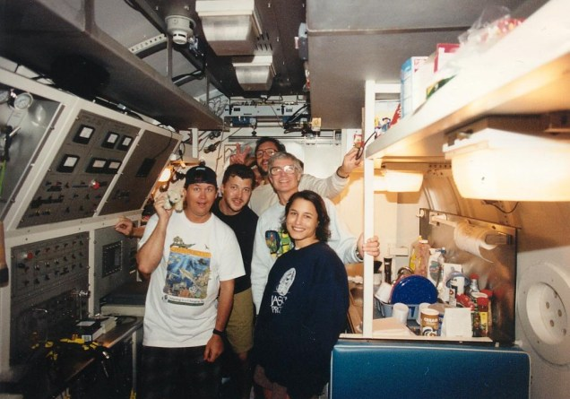 Aquarius Habitat mission team 1996