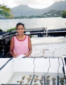 Lisa in Hawaii
