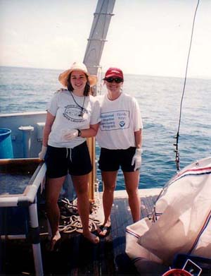 Katie and Andrea, Panama cruise