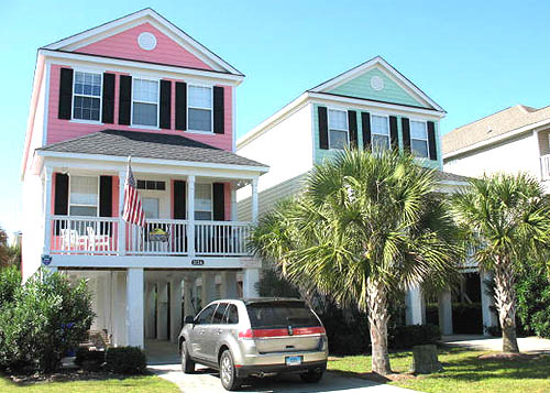 oceanfront beach houses in surfside beach