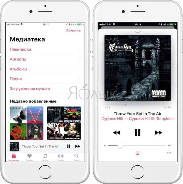 add-music_song-from-computer-to-iphone-or-ipad-yablyk Как скачать музыку на iPhone или iPad: все лучшие способы слушать музыку на iOS в 2018 году