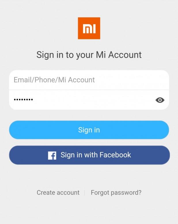 حل مشكلة ضياع كلمة السر الخاصة Mi Account النصائح