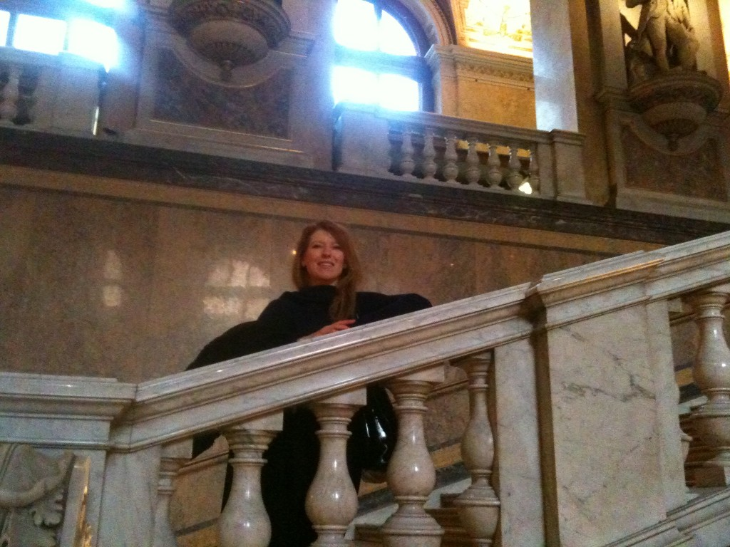 Luci Gabel Inside Natural History Museum Vienna