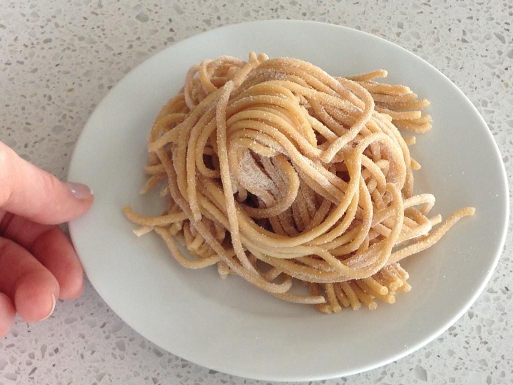 Pasta serving