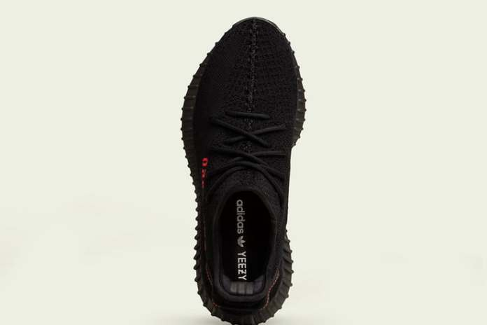 adidas BlackRed Yeezy Boost 350 V2