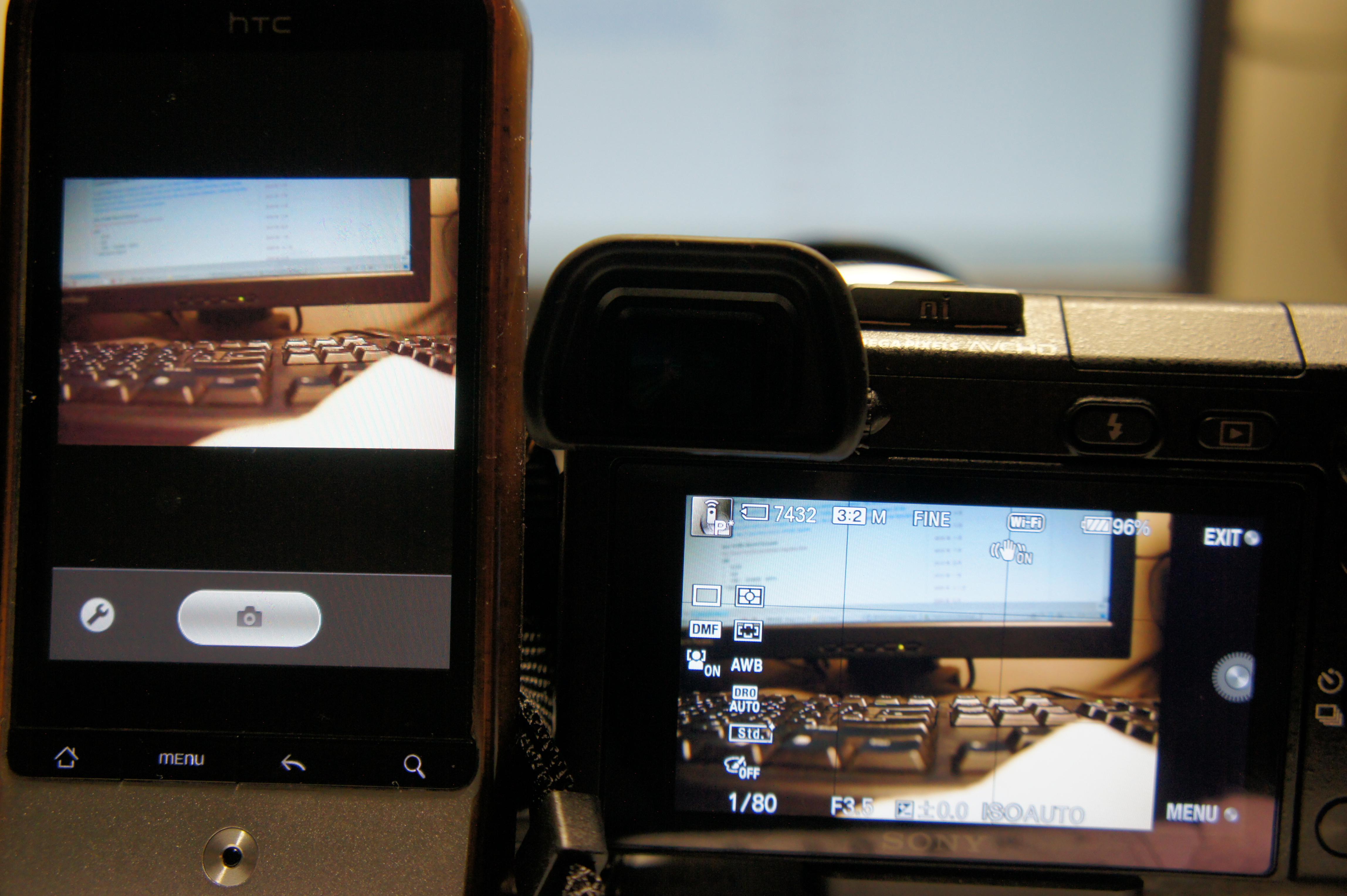 智慧型手機透過wifi遙控相機 | 莫 . 名 . 其 . 妙
