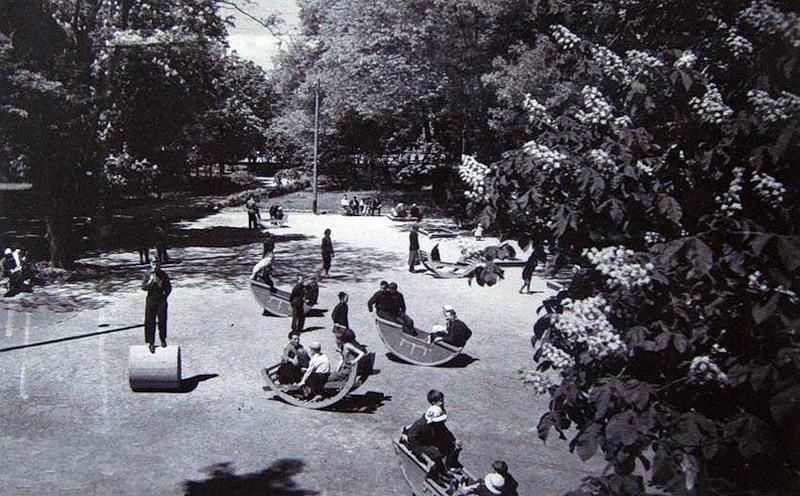 Какой-то парк, большего сказать не могу. Так отдыхали наши предки 50 лет назад.