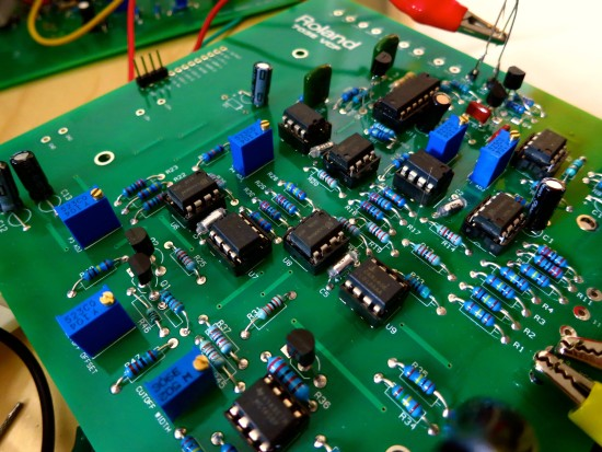 Roland System 700 703e low pass filter