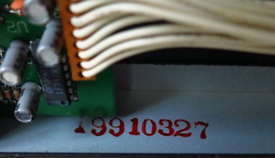Quadraverb date code