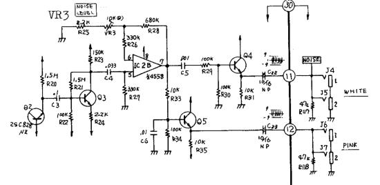 Roland System 100m noise circuit