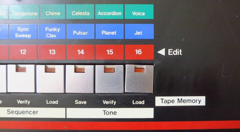 Wonky 16 button
