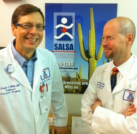 SALSA co-directors Joseph Mills and David Armstrong.