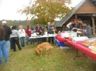 The food line!
