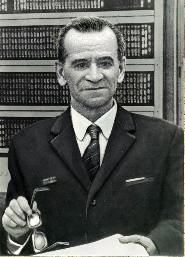 Sergey Alekseevich Lebedev created the first computer in continental Europe - MESM