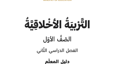 Photo of التربية الاخلاقية الصف الاول الفصل الثاني