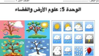 Photo of مذكرة علوم الوحدة الخامسة الصف الاول الفصل الثاني