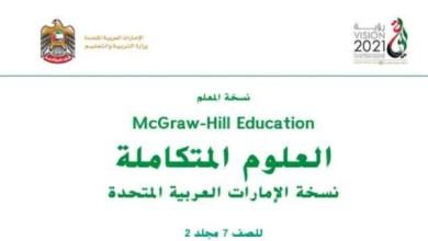 Photo of دليل المعلم علوم غير محلول صف سابع فصل ثاني