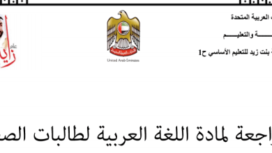 Photo of صف أول فصل ثاني لغة عربية ورق عمل شامل