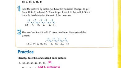 Photo of صف رابع فصل ثاني حلول الدرس الثاني رياضيات منهج إنجليزي