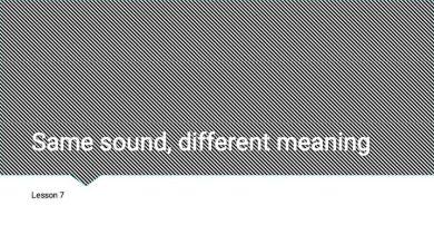Photo of صف ثالث فصل ثاني الكلمات المتشابهة لفظاً مختلفة المعنى لغة إنجليزية