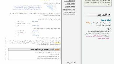 Photo of صف ثاني عشر عام فصل ثاني دليل رياضيات