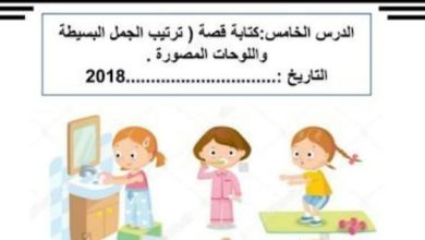 Photo of صف ثاني فصل ثاني ورق عمل شامل لغة عربية