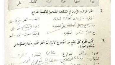 Photo of حل الوحدة الرابعة والخامسة كتاب النشاط لغة عربية صف رابع فصل ثاني