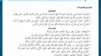 Photo of صف سادس فصل ثاني حلول لغة عربية درس كن أكثر وعيا بغضبك