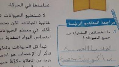 Photo of صف سابع فصل ثاني علوم حلول درس ما الحيوانات