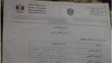 Photo of أوراق عمل درس الإمام مالك تربية إسلامية صف سادس فصل ثاني