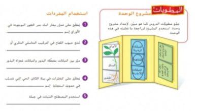 Photo of حل أسئلة نهاية الوحدة التاسعة علوم صف سابع فصل ثاني