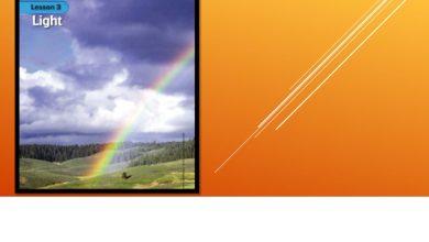 Photo of ملخص الضوء علوم منهج إنجليزي صف رابع فصل ثاني