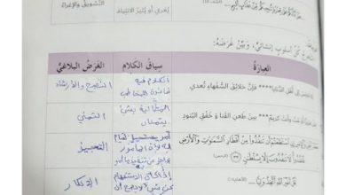 Photo of صف سابع فصل ثاني حلول لغة عربية درس كتابة نص تفسيري