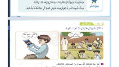 Photo of اجابة درس شوهد من قبل لمادة اللغة العربية الصف السابع