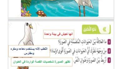 Photo of حل درس الحمامة والثعلب والمالك الحزين لغة عربية صف سابع فصل ثالث