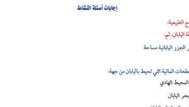 Photo of حل اسئلة كتاب النشاط دراسات اجتماعية الصف السادس فصل ثالث