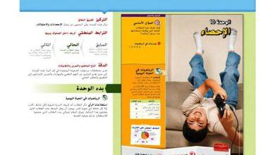 Photo of دليل المعلم رياضيات وحدة الإحصاء صف سابع فصل ثالث