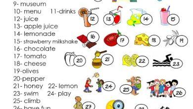 Photo of مفردات الوحدة 9 لغة إنجليزية صف ثالث فصل ثالث