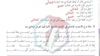 Photo of حل درس امثال الشعوب لغة عربية الصف السابع الفصل الثالث