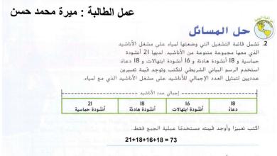 Photo of صف خامس فصل ثاني رياضيات حلول الدروس الخمسة الأولى وحدة التعابير والأنماط