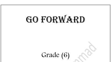 Photo of سادس لغة إنجليزية مراجعة قواعد الفصل الأول
