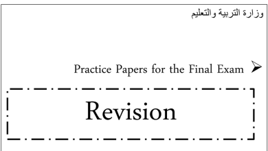Photo of رابع فصل أول لغة إنجليزية أوراق عمل الوحدات الأولى والثانية والثالثة والرابعة