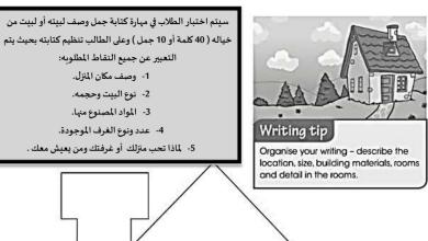 Photo of نموذج اختبار كتابة لغة إنجليزية صف خامس فصل أول