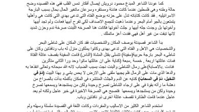 Photo of استجابة أدبية لقصيدة بنت صرخة لغة عربية صف ثاني عشر فصل ثاني