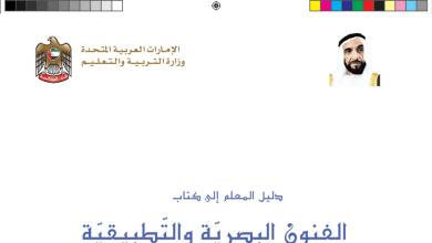 Photo of دليل المعلم مادة الفنون البصرية والتطبيقية للصف الأول