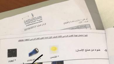 Photo of حل امتحان الوزاري علوم الصف الاول الفصل الثالث 2017-2018